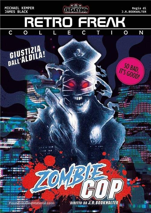Zombie Cop - Italian DVD movie cover