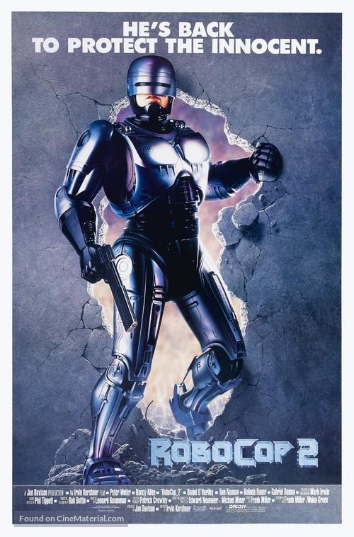 RoboCop 2 - Movie Poster