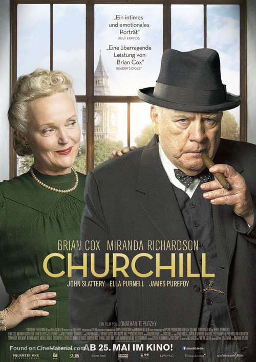 Churchill - German Movie Poster