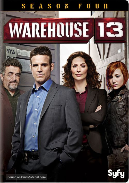 """""""Warehouse 13"""" - DVD movie cover"""