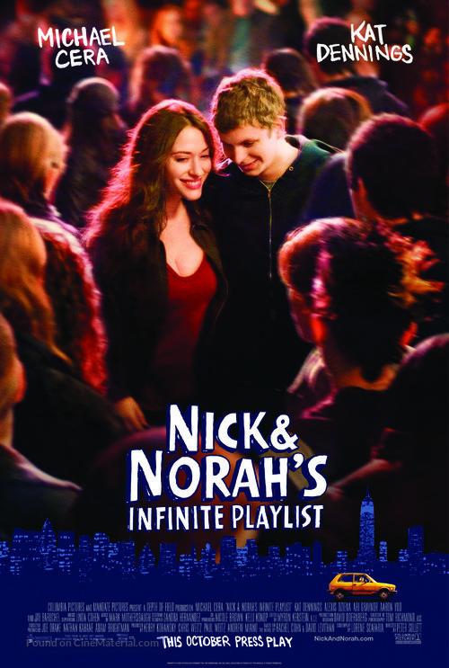 Nick and Norah's Infinite Playlist - Movie Poster