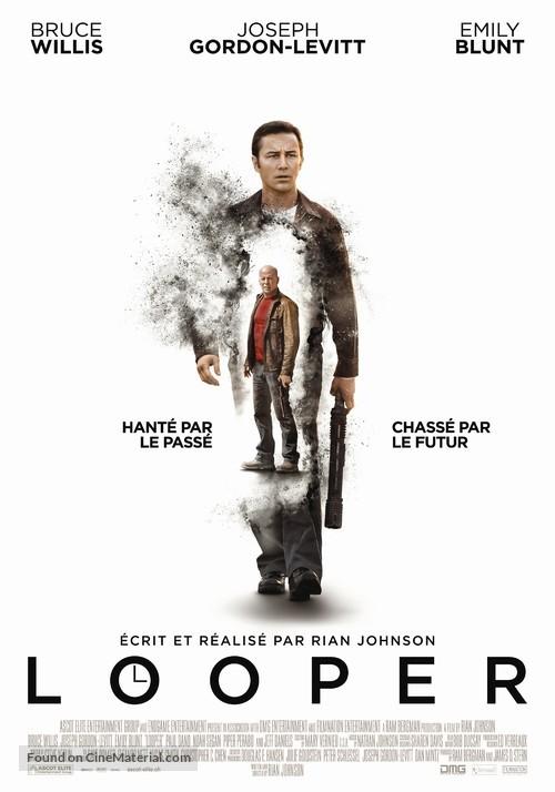 Looper - Swiss Movie Poster