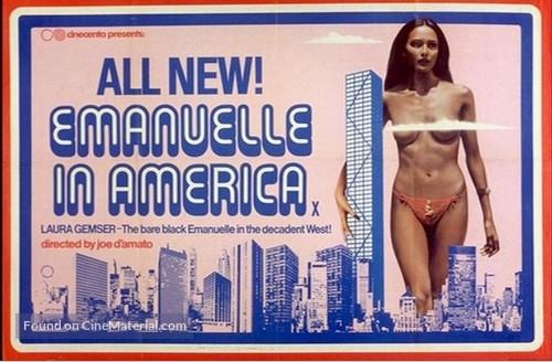 Emanuelle In America - Italian Movie Poster