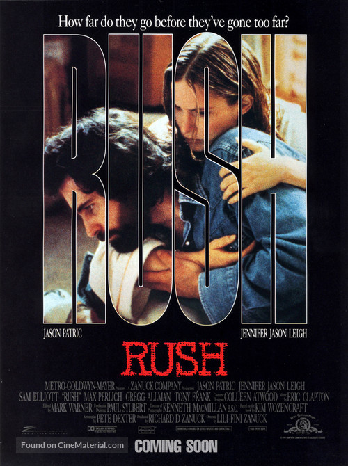 Rush - Advance movie poster