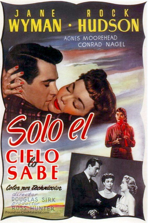 All That Heaven Allows - Spanish Movie Poster