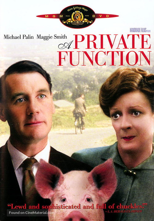 A Private Function - DVD movie cover