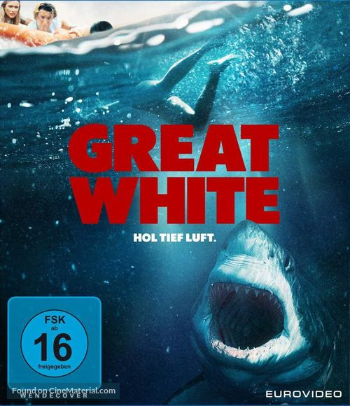 Great White (2021) German blu-ray movie cover