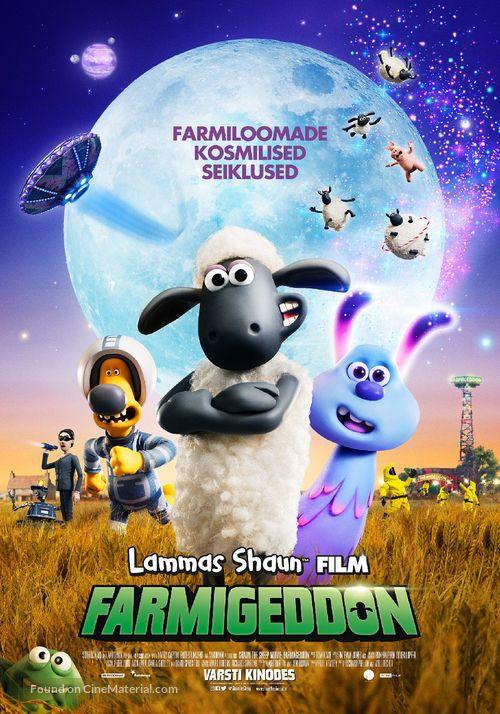 A Shaun the Sheep Movie: Farmageddon - Estonian Movie Poster