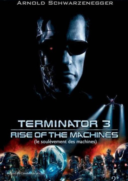 Terminator 3: Rise of the Machines - French DVD movie cover
