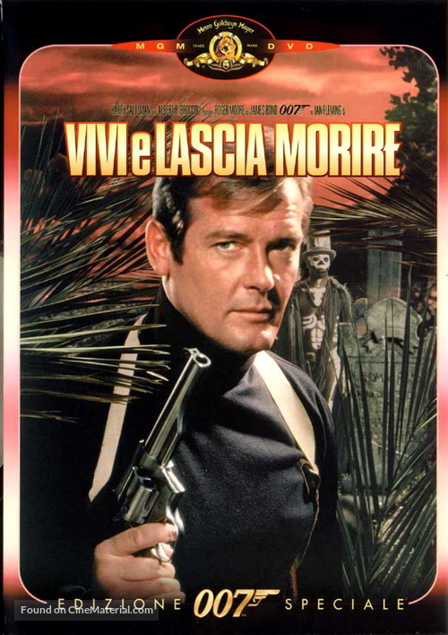 Live And Let Die - Italian DVD movie cover