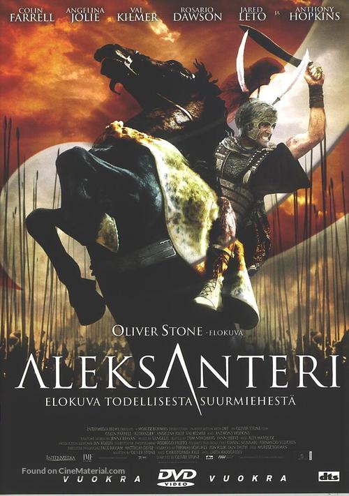 Alexander - Finnish DVD movie cover