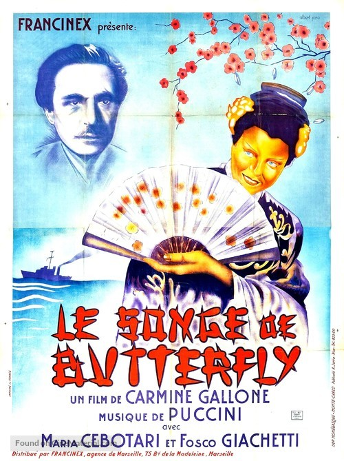 Il sogno di Butterfly - French Movie Poster