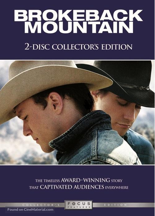 Brokeback Mountain 2005 Dvd Movie Cover