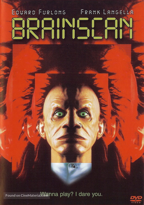 Brainscan - DVD movie cover