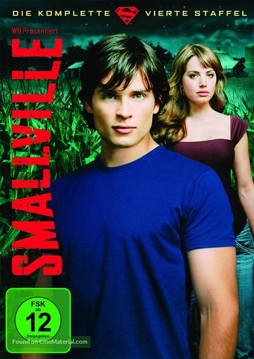 """Smallville"" - German DVD movie cover"