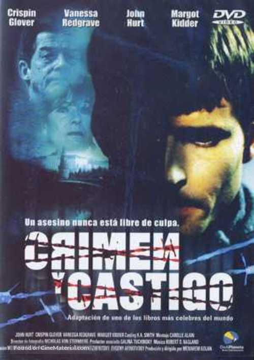 Crime and Punishment - Spanish Movie Cover