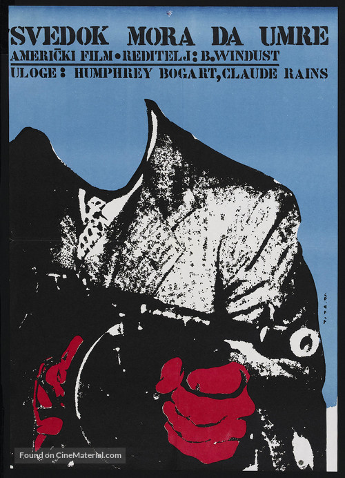 Passage to Marseille - Yugoslav Movie Poster