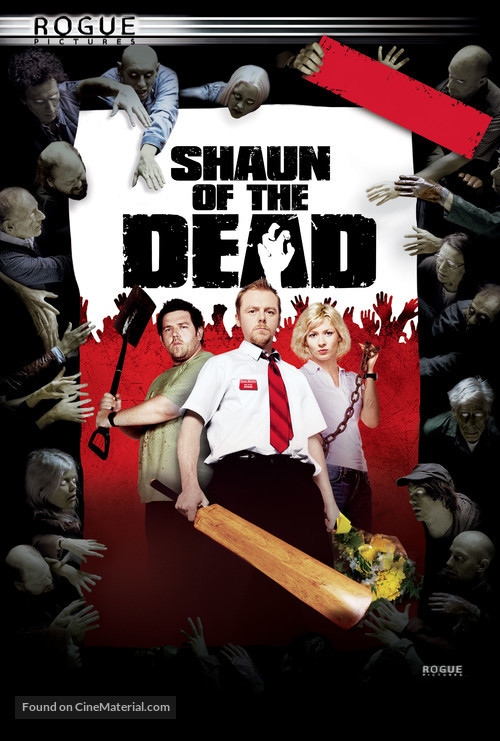 Shaun of the Dead - DVD movie cover