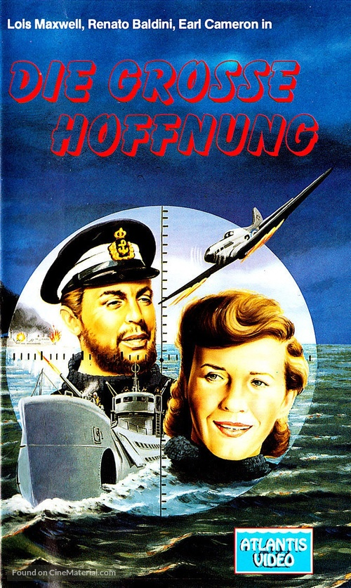 La grande speranza - German VHS movie cover