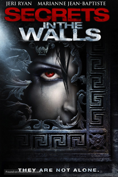 Secrets in the Walls - DVD movie cover