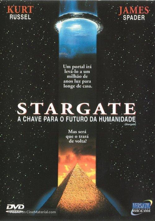 Stargate - Brazilian DVD movie cover