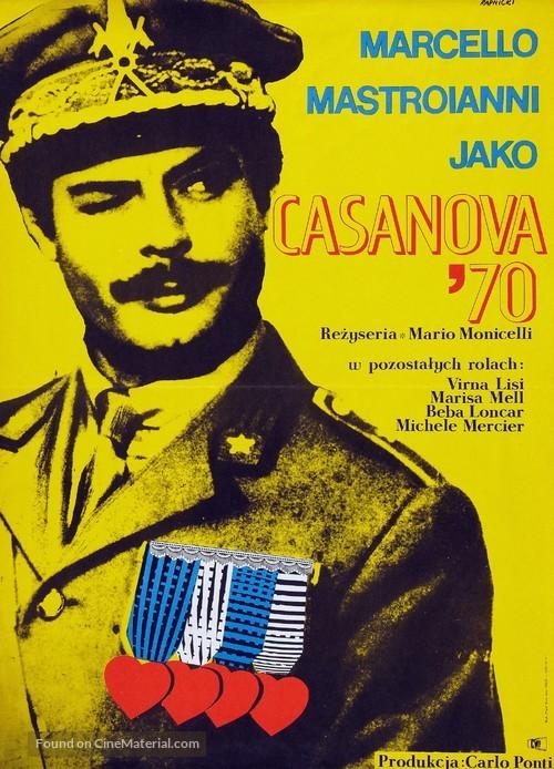 Casanova '70 - Polish Movie Poster