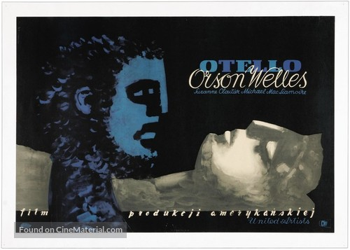 The Tragedy of Othello: The Moor of Venice - Polish Movie Poster