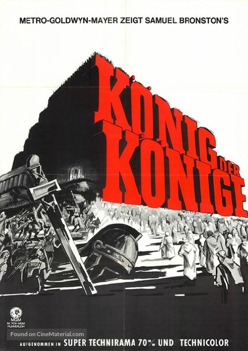 King of Kings - German Movie Poster