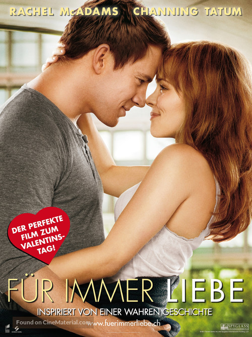The Vow - Swiss Movie Poster