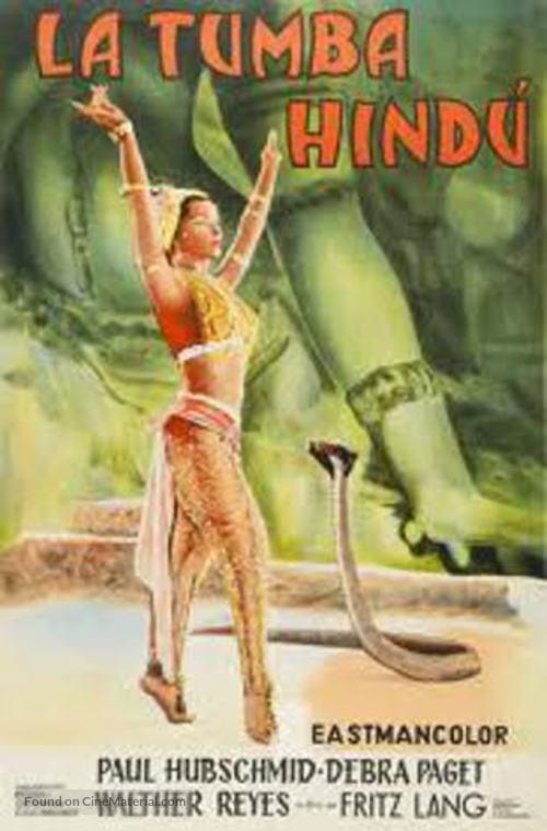 Das iIndische Grabmal - Argentinian Movie Poster