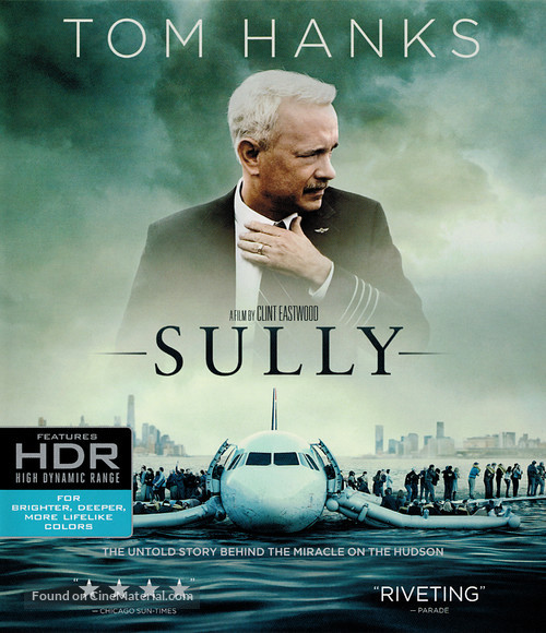 Sully - Blu-Ray movie cover