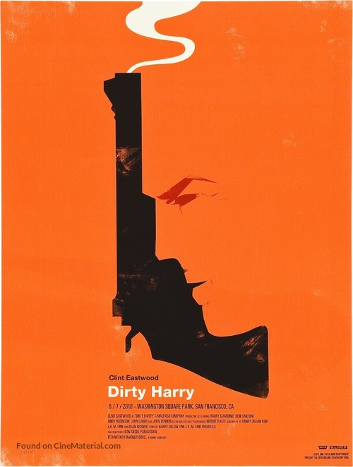 Dirty Harry - Homage movie poster