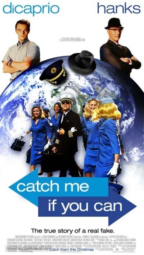 catch me if you can movie poster