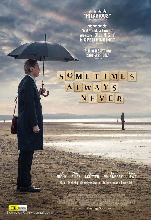 Sometimes Always Never - Australian Movie Poster