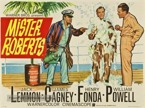 Mister Roberts - British Movie Poster