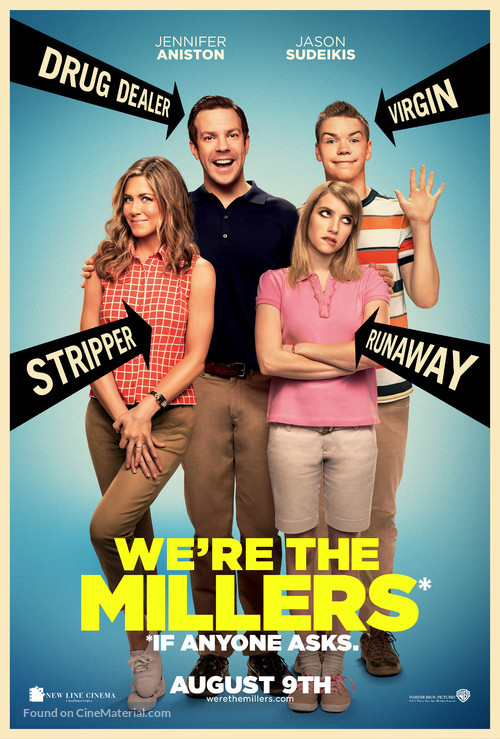 We're the Millers - Theatrical movie poster