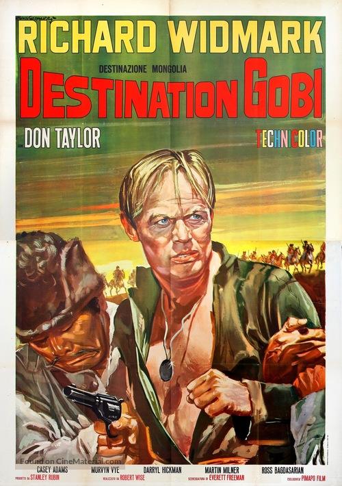 Destination Gobi - Italian Movie Poster