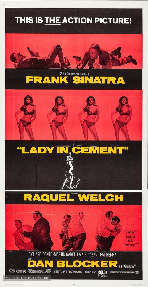 Lady in Cement - Movie Poster