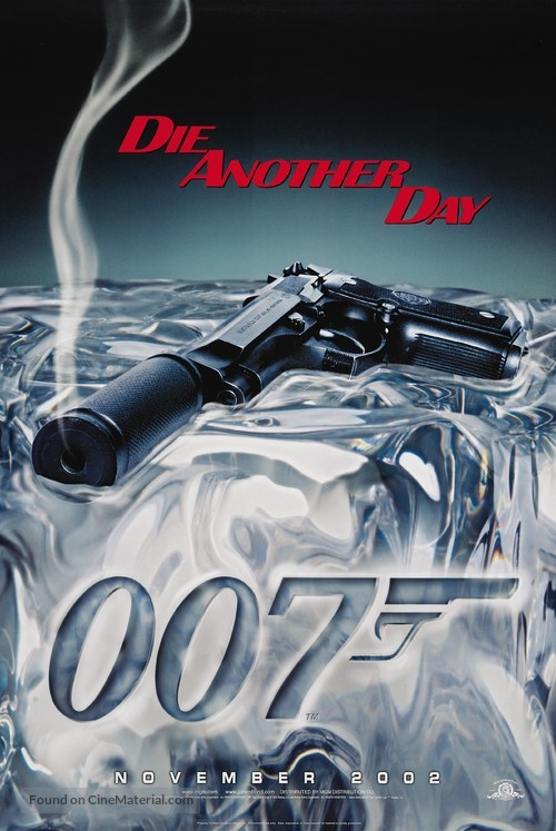 Die Another Day - Teaser movie poster