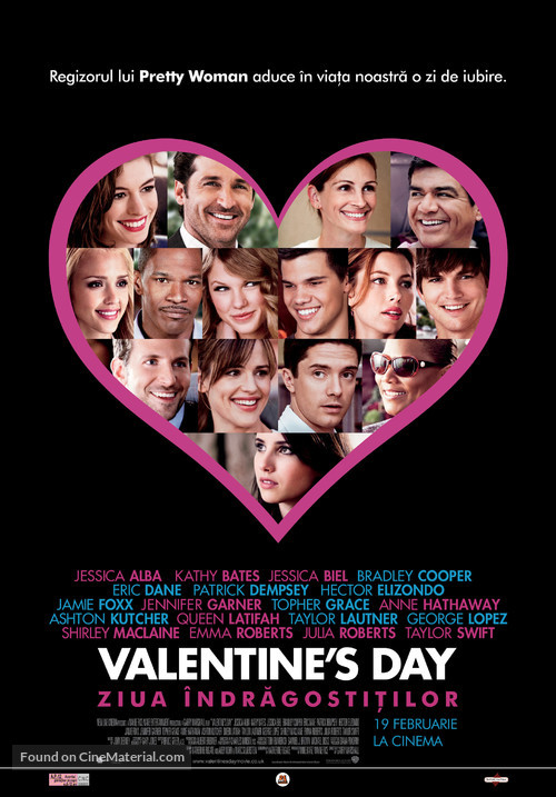 Valentine's Day - Romanian Movie Poster