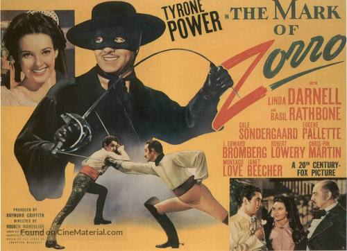 The Mark of Zorro - Movie Poster