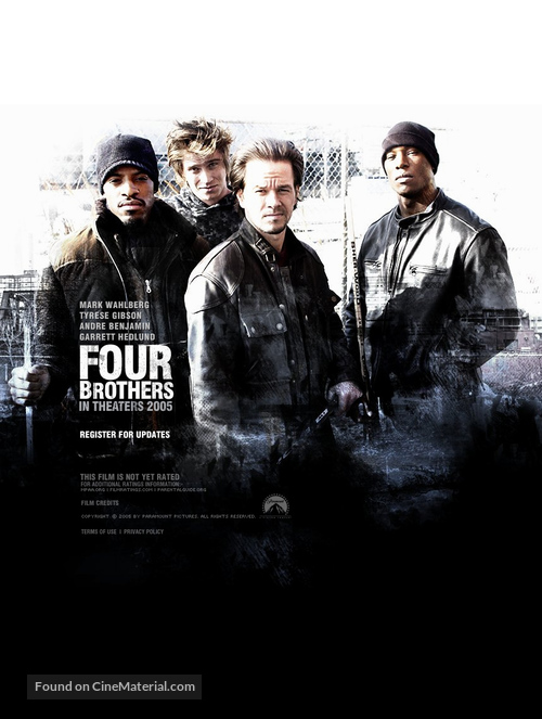 Four Brothers - Movie Poster