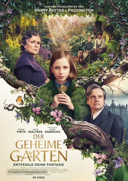 The Secret Garden - German Movie Poster