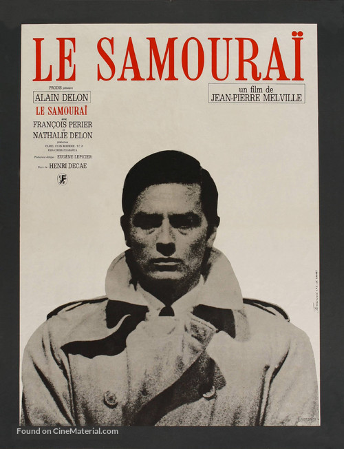 Le samouraï - French Movie Poster