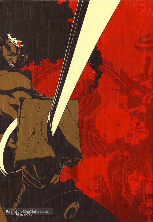 """Afro Samurai"" - Japanese Key art"