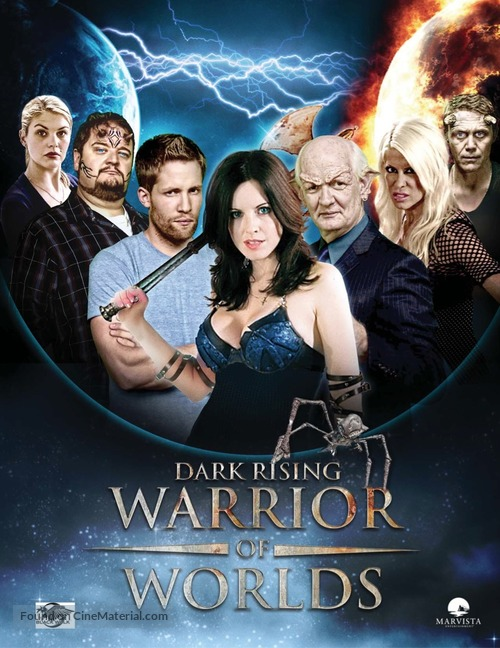 """Dark Rising: Warrior of Worlds"" - Canadian Movie Poster"
