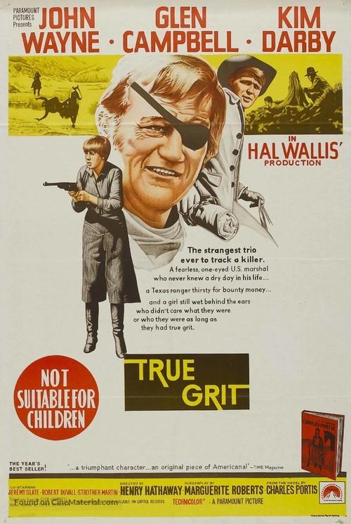 True Grit - Australian Movie Poster