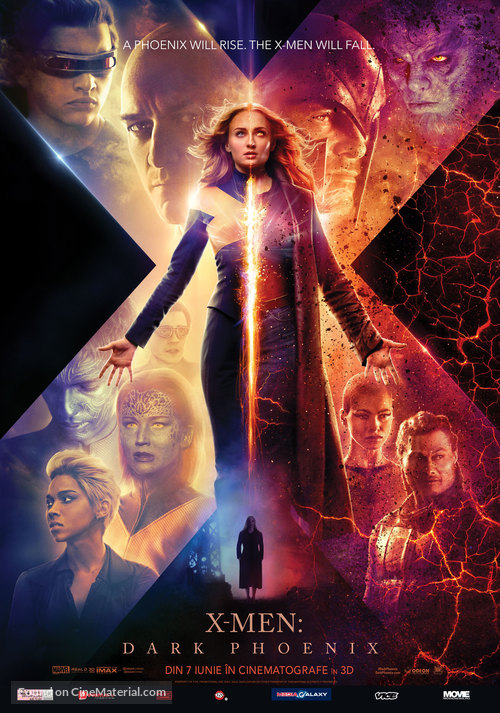 Dark Phoenix - Romanian Movie Poster