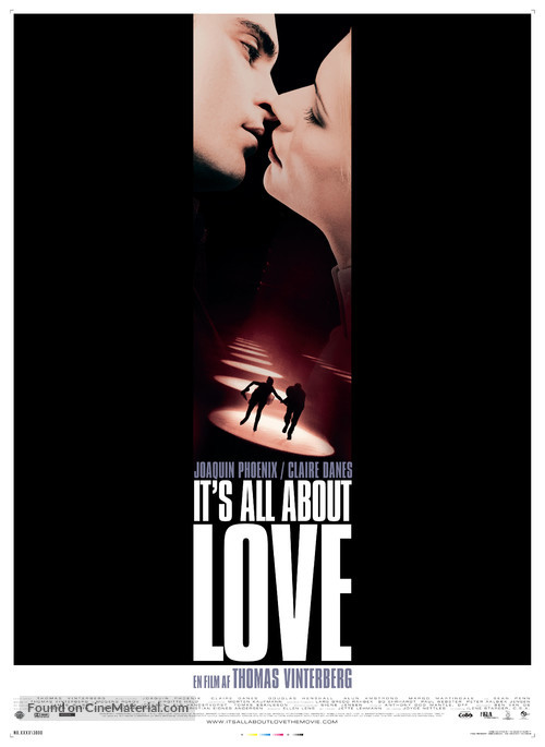 It's All About Love - Danish Movie Poster