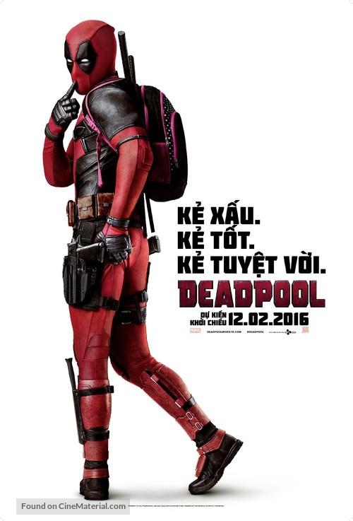 Deadpool - Vietnamese Movie Poster